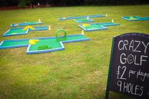 About mini golf